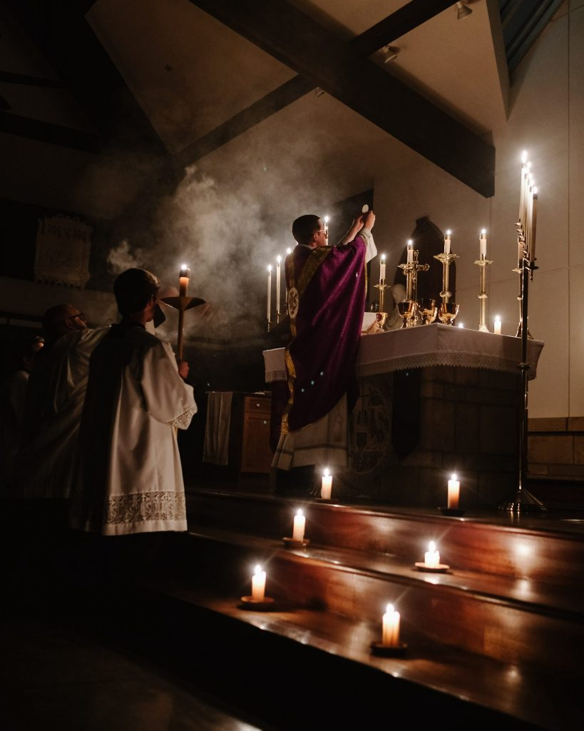 catholic services mass